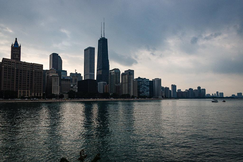 Chicago Skyline Seaside